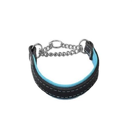halvstryp halsband läder